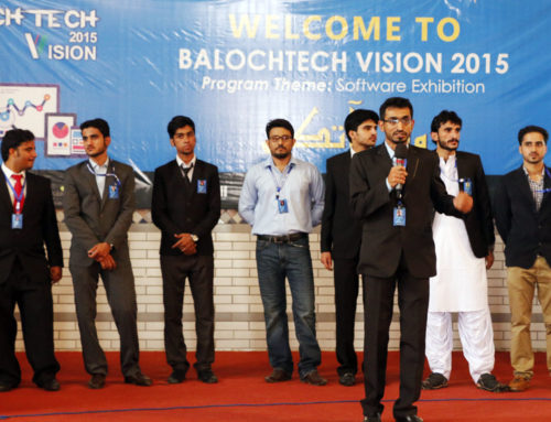 BalochTech Vision 2015 Exhibition Organized in Karachi